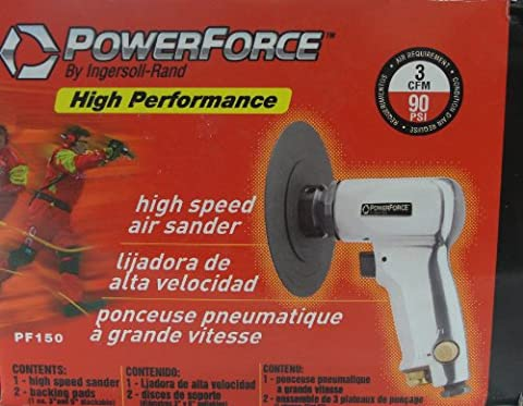 Power Force by Ingersoll-Rand PF150 High Speed Air Sander (Ingersoll Rand High Speed Sander)