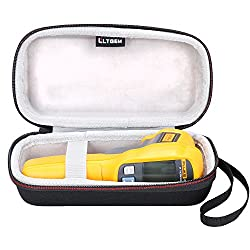 LTGEM Case for Fluke 62/Fluke 64/Fluke 59 Max+ Infrared IR Thermometer-Black