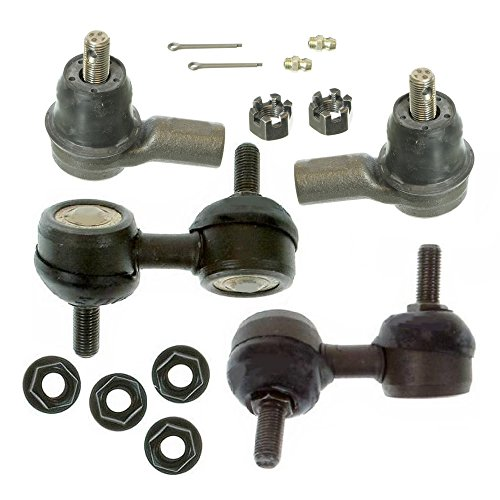 Prime Choice Auto Parts TRK3612SBK986 Set of 2 Tie Rod Ends and 2 Sway Bar Link Kits