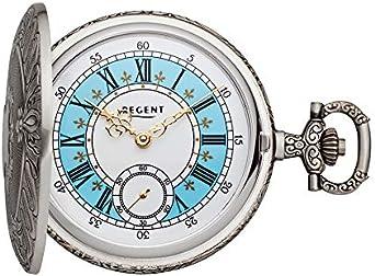 Regent Reloj de Bolsillo analógico Antiguo Cuerda Manual p de 188