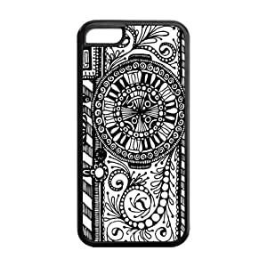 5C Phone Cases, Camera Hard TPU Rubber Cover Case for iPhone 5C