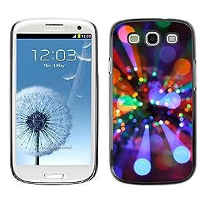 Planetar® ( Rays Light Disco Ball Bright Party Mood ) SAMSUNG Galaxy S3 III / i9300 / i747 Fundas Cover Cubre Hard Case Cover