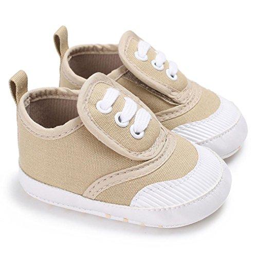 low priced 2d362 cf7dd Babyschuhe Longra Baby Schuhe für Neugeborene Mädchen Jungen Krabbelschuhe  Soft Sole Schuh Sneakers(0 ...