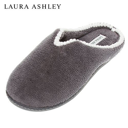 Grey Slippers Pompoms Mini Ashley Laura Sizes Colors Womens see Scuff Rugged Dk qPIpw