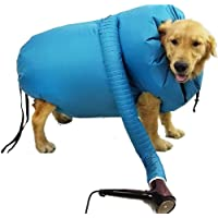 Pet Drying Coat, Puff and Fluff Dog Dryer,Pet Dog Dryer Hair Drying Bag Household Protable Fast Easy Blower Professional…