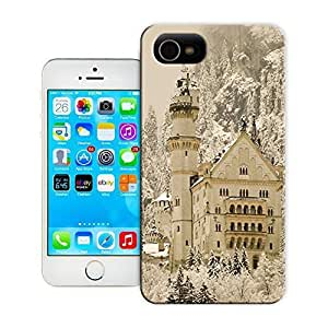 THYde Unique Phone Case Famous buildings Germany Neuschwanstein Castle Hard Cover for iPhone 5c cases-buythecase ending