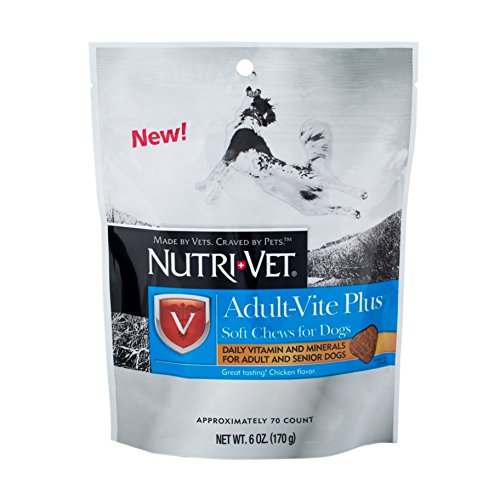 Nutri-Vet Wellness Adult-Vite Plus Soft - Chewable Nutri Vitamins
