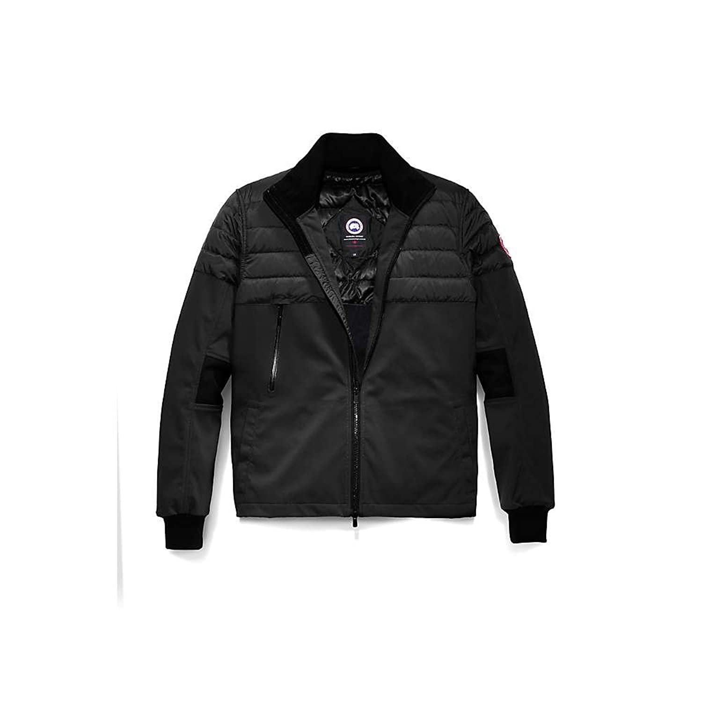カナダグース アウター ジャケットブルゾン Canada Goose Men's Jericho Beach Jacket Black/Blac [並行輸入品] B079BSJ84Y  Small