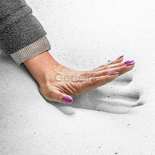 GERIALIFE® Colchón Geriátrico Hospitalario Articulado | 5 cm de Viscoelástica | Funda Sanitaria Impermeable (135x190): Amazon.es: Hogar