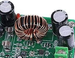 DC 10V-60V to 12V 24V 36V 48V 80V 10A Converter Step-up Module Power Supply 600W