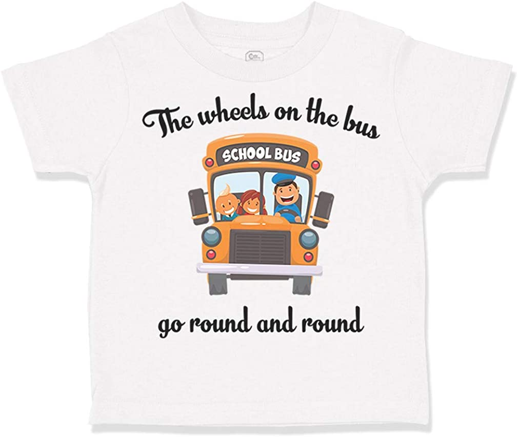 Wheels On The Bus Kid Song Graphic tshirt