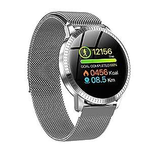 TechCode Bluetooth Smartwatch, Heart Rate Monitors Step ...