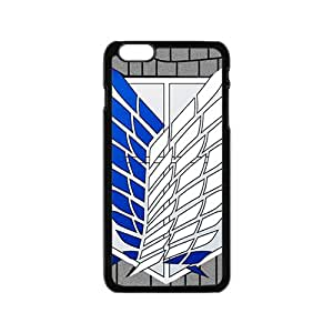 NICKER Attack On Titan Fashion Comstom Plastic case cover For Iphone 6