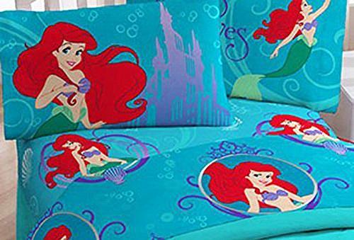 The Little Mermaid Princess Ariel Twin Sheet Set