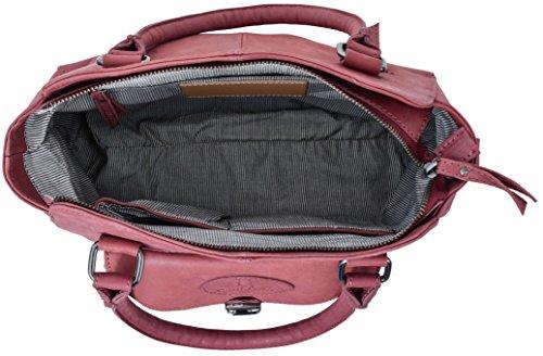 """Gusti Cuir studio """"Nora"""" sac à main sac de soirée sac pour sortir sac de loisir sac en bandoulière homme femme cuir de chèvre rose 2H72-29-3"""