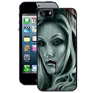 Vampire Bite Tattoo iPhone 5/5s Case (Black)
