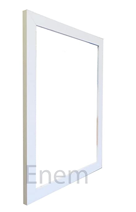 White Picture Frame Photo Poster Frame Wooden Effect 10\