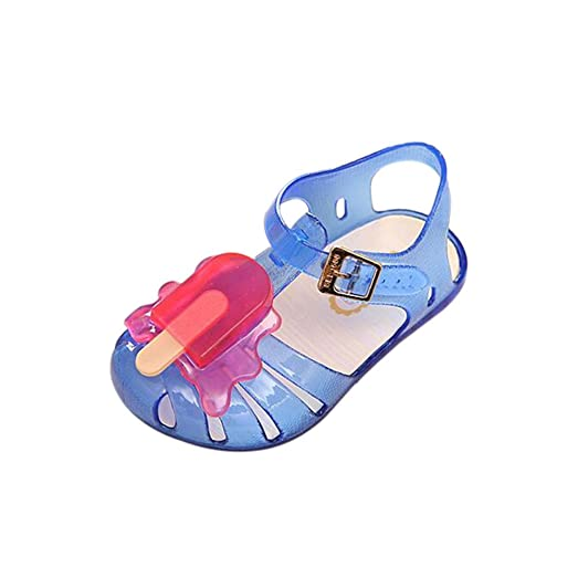 Unisex Non-slip Flip Flops Candy Ice Cream Cool Beach Slippers Sandal