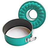 Debbiedoo's 7' inch Non-Stick Springform Bundt Pan 2-in-1 for Use with 6QT or 8QT Electric Pressure Cookers and Air Fryers