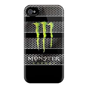 Iphone 4/4s May2918lDap Provide Private Custom Stylish Monster Image Best Hard Phone Case -ChristopherWalsh