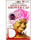 (PACK OF 12) DONNA PREMIUM COLLECTION DOUBLE SIDED SHOWER CAP #22025 ASSORT
