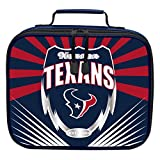 """The Northwest Company Officially Licensed NFL Houston Texans """"Lightning"""" Kids Lunch Kit, blue, One Size"""