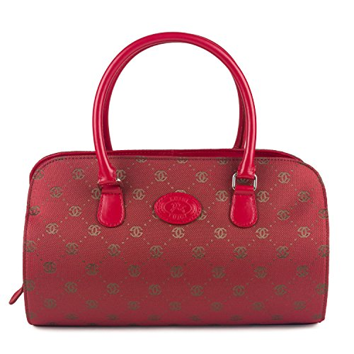 81426 Rojo Sintético Bolos Bolsa Luigi De Mujer fYdFSq