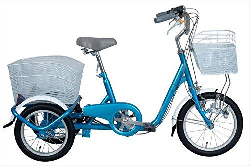 スイングチャーリー【SWING CHARLIE】 三輪自転車 16インチ ロータイプ三輪自転車 MG-TRE16SW-BL 1710 ブルー B076CZ7YR1