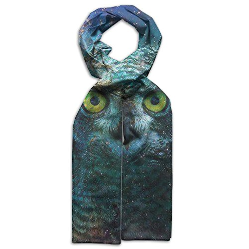 Custom Galaxy Owl Children's Scarf Novelty Scarf And Glasses Costume (Owl Glasses Costume)