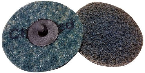 Griton QS3307 3' Surface Conditioning Disc, Industrial Grade Type 3, Very Fine, Blue (Pack of 25)