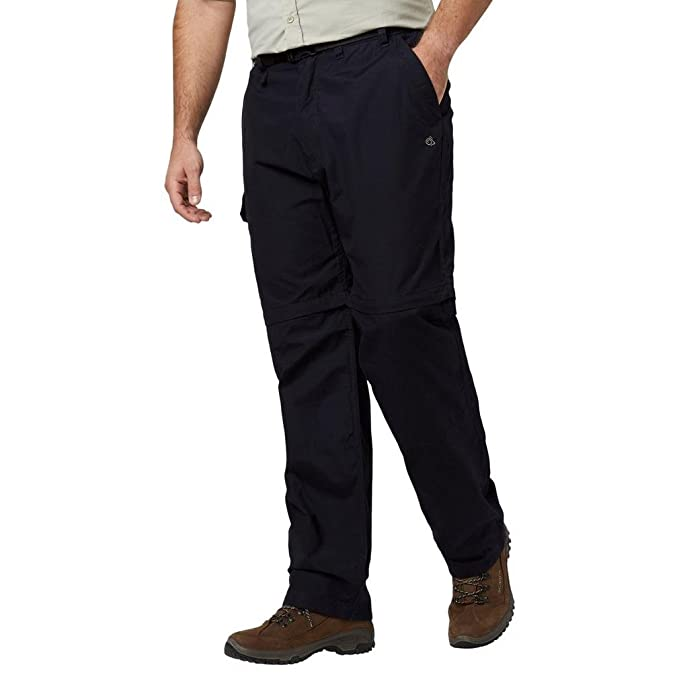 Craghoppers Womens Kiwi Zip Off Convertable Walking Hiking Trousers  Dark Navy