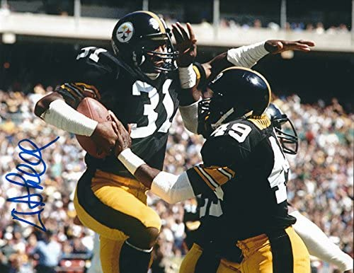 55bf88f88e1 Autographed Donnie Shell Pittsburgh Steelers 8x10 Photo at Amazon s ...