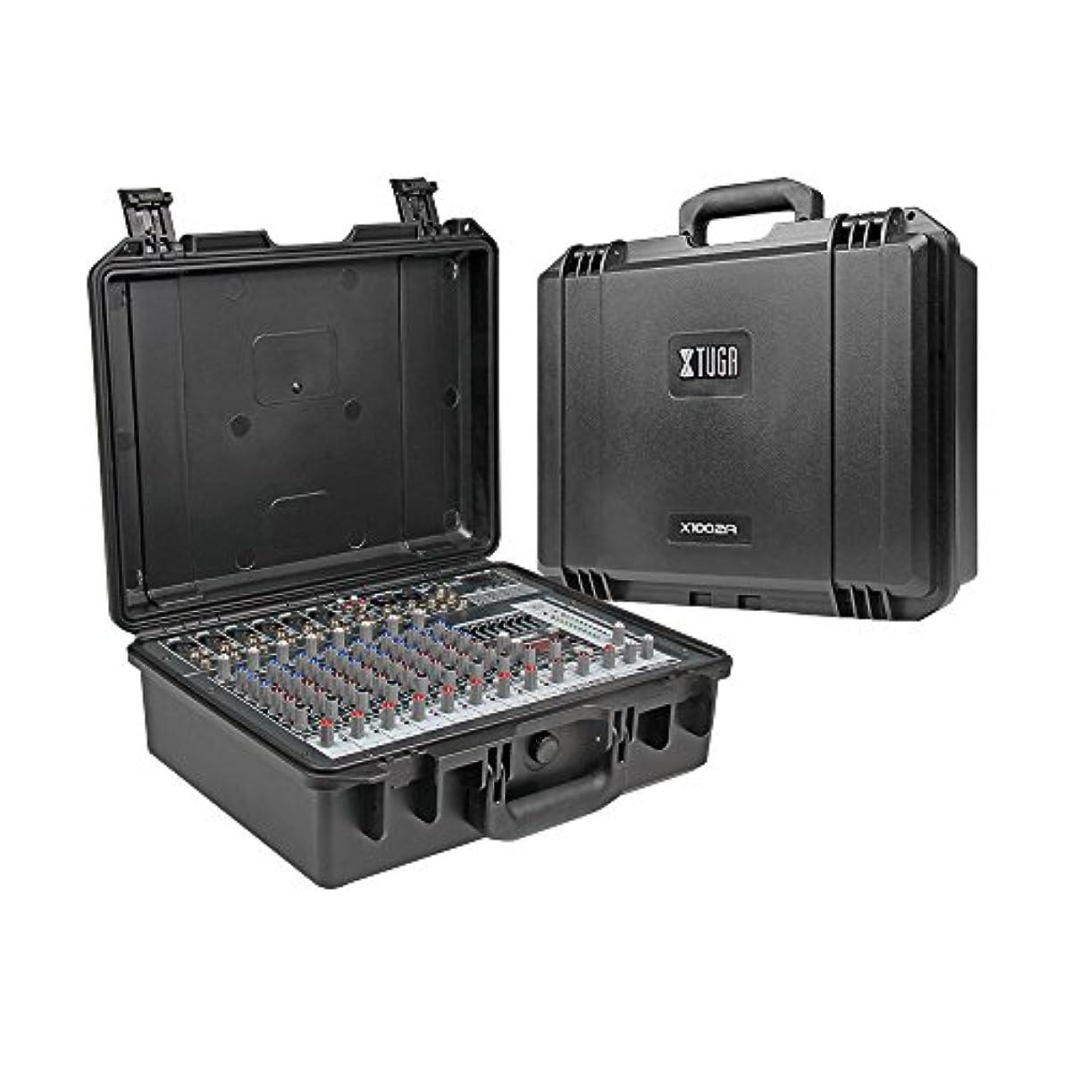 [해외] XTUGA X1002A 포터블 손에 쥐는식 조율대 BLUETOOTH와 USB 10채널 파워 앰프부 325W * 2 8OHM 다기능 프로패셔널 사운드 콘솔블랙