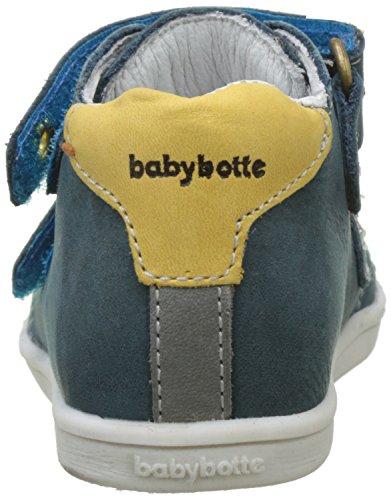 babybotte Baby Jungen Feeling Lauflernschuhe für Babys Bleu (Canard)