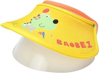 FEOYA - Sombrero de sol para bebé niña con diseño de flor estampada de algodón para primavera, verano, protección para playa, viaje y senderismo, color blanco E-3 2-4 Años: Amazon.es: Ropa y