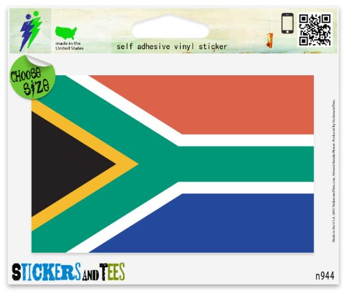 South Africa Flag Vinyl Car Bumper Window Sticker 3