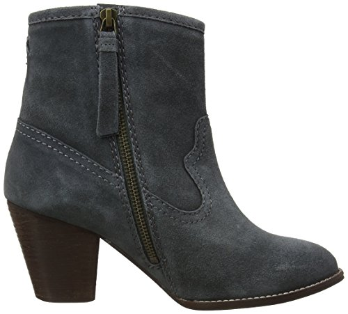 Face Gry Gris Femme Bottines Oake Charcoal Fat Fat Heel Face 41EHW1