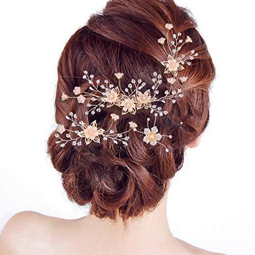 4pc Beautiful Bride Costumes - 4Pcs Wedding Hair Pins Hair Set