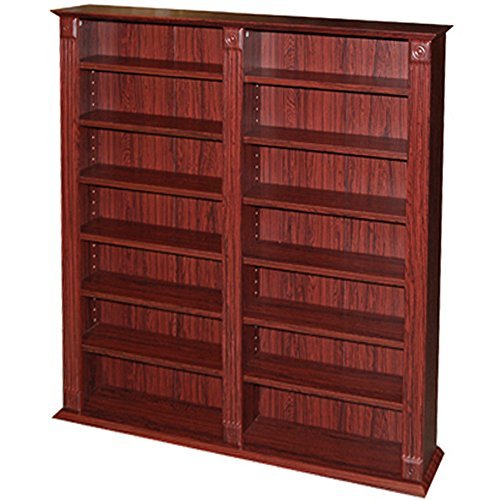 REGENCY - 700 CD / 280 DVD / Blu-ray / Media Storage Shelves Extra Large Unit by WATSONS by WATSONS