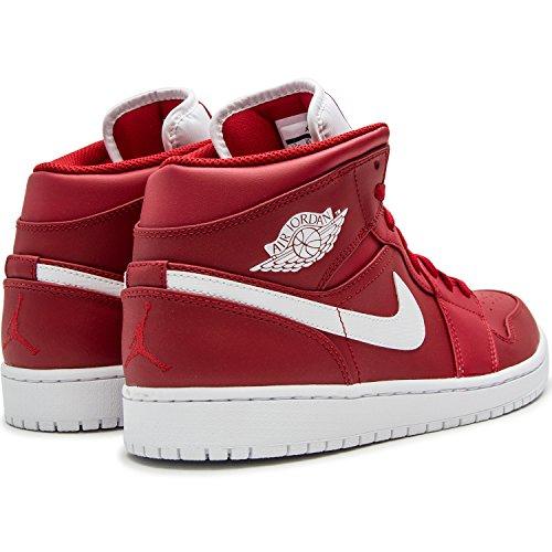 Nike Mens Air Jordan 1 Mitten Basket Sko Gym Röd / Vit