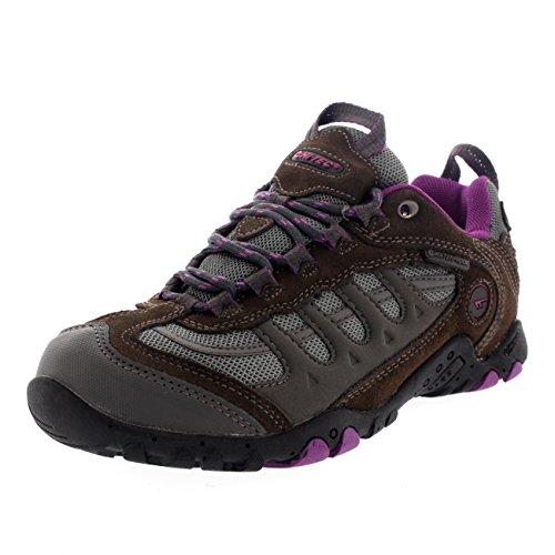 Penrith Womens Low Hi Sneakers Charcoal Tec Walking Outdoors Hiking Waterproof qHEF7xa