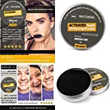 Novelty Teeth Whitening Powder,Zyooh 50g Mint Flavor Natural Organic Activated Charcoal Bamboo Toothpaste Powder Effective Removes Tooth Stains