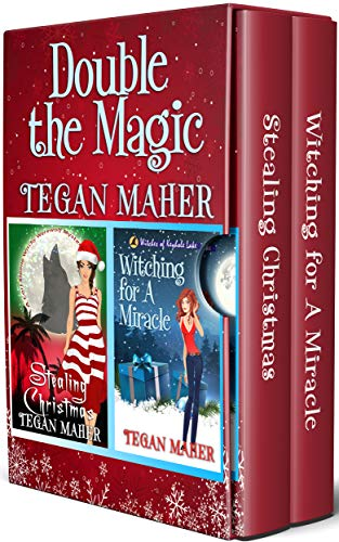 Double the Magic: Two WItchy Christmas Mysteries by [Maher, Tegan]