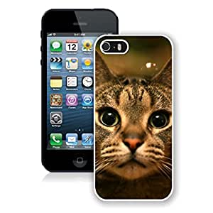 Customization Naughty Christmas Cat Iphone 5s Case,Phone Case For Iphone 5,Iphone 5 White TPU Cover
