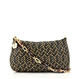Eric Javits Luxury Fashion Designer Women's Handbag - Bulu Clutch - Hickory