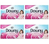 Downy April Fresh msUIac Fabric Softener Dryer sheets, 240 Count (4 Pack)