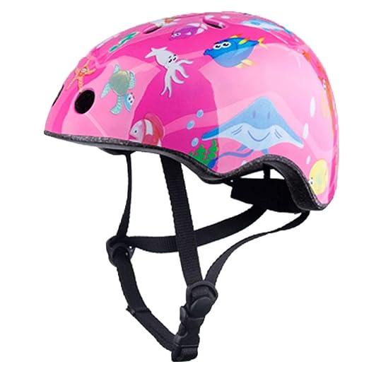 WLJBY Casco de Bicicleta para niños, Casco de Moto para niños para ...