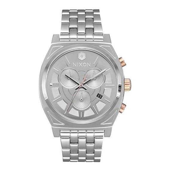 Reloj Nixon Star Wars Time Teller Chrono A972SW2445 Hombre Gris Acero