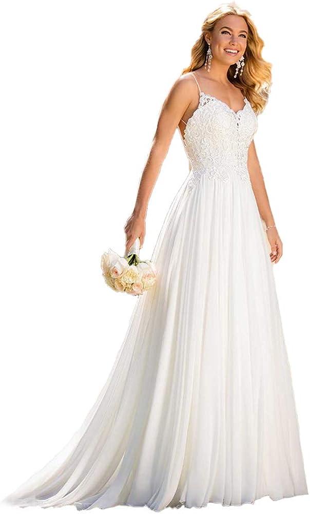 Beach Wedding Dresses Bride...