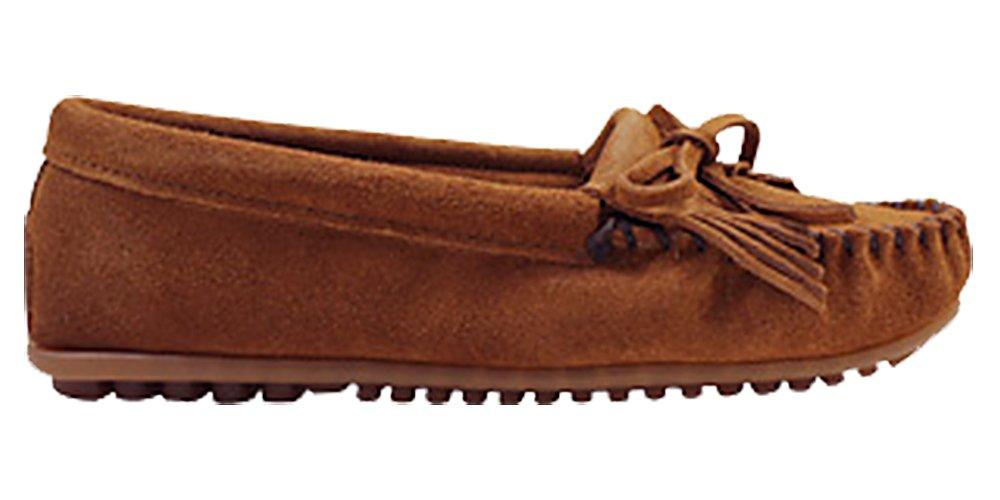 ミネトンカ KILTY SUEDE MOC HARDSOLE モカシン キルティ スエード ハードソール ユニセックス (並行輸入品) B00HEVQBM4 21.5~22.0 cm|BROWN(402) BROWN(402) 21.5~22.0 cm